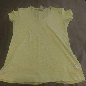 Women's Large green Soffe t-shirt